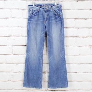 Chip & Pepper Jeans - Chip & Pepper LA Girl Distressed Flare Jeans 32
